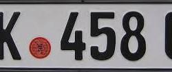 numere rosii germania