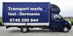 transport marfa iasi germania